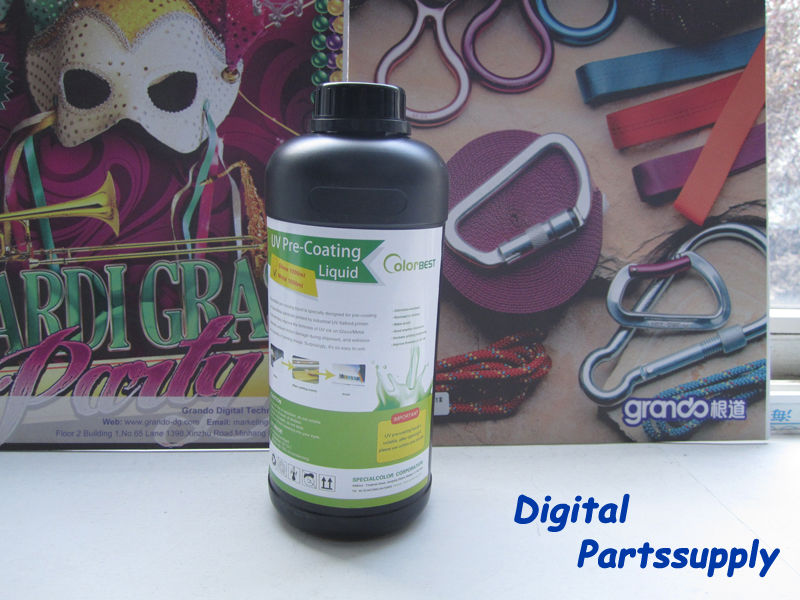 100% Original UV Coating Liquid 1000ml Printing on Metal for UV Ink Precoating