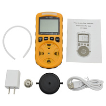 цены 4 in 1 Multi Gas Detector O2 H2S CO Combustible With Gas Sampler Pump Oxygen Hydrogen Sulfide Carbon Monoxide Gas Analyzer
