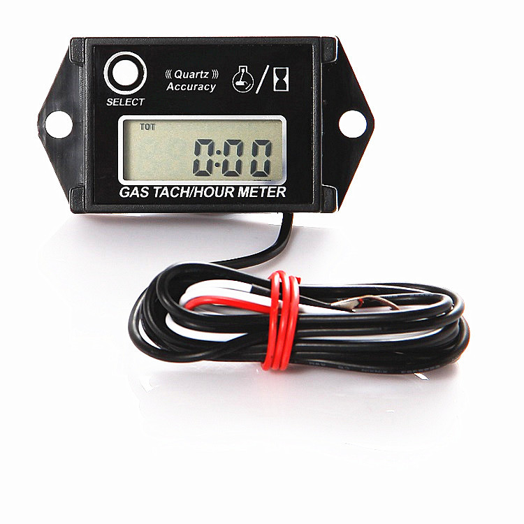 Searon Hour Meter Tach Tachometer For Small Engine Boat Generator Lawn Mower Motorcycle Motocross Atv Snowmobile Utv Christmas