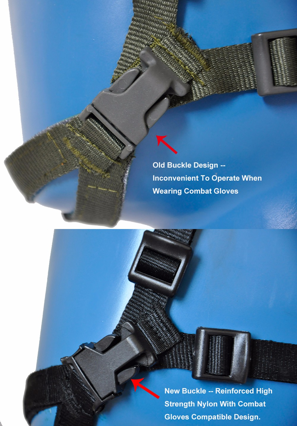 BK Buckle Comparison