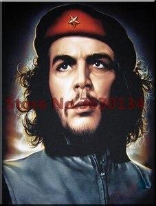 Че Гевара портреты 5d алмазная Картина Вышивка крестом Рукоделие полный квадрат Алмазная вышивка наборы Алмазная мозаика