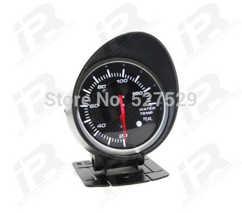 60mm RED & White backlight car Refit meter Water temperature gauge Auto Gauge With sensor For WRX STI EVO FPV RX3 RX7 S15