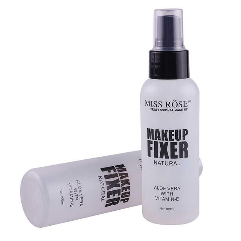 MISS ROSE 100 ML beauté cosmétique maquillage réglage Spray mat huile-contrôle naturel hydratant été utilisation maquillage fixateur Spray TSLM1