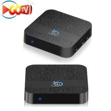 Gotv Free 2 Years free service channels digital 4K HD Android Smart Brazil Latin iptv box Live + VOD + Playback
