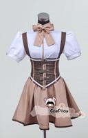 Puella Magi Madoka Magica Cosplay Costume Tomoe Mami Dress