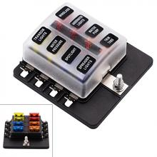 Waterproof Max 32V Plastic Cover 8 Way Blade Fuse Box Holder M5 stud with LED Indicator_220x220 popular max fuse buy cheap max fuse lots from china max fuse f10 m5 fuse box location at gsmportal.co