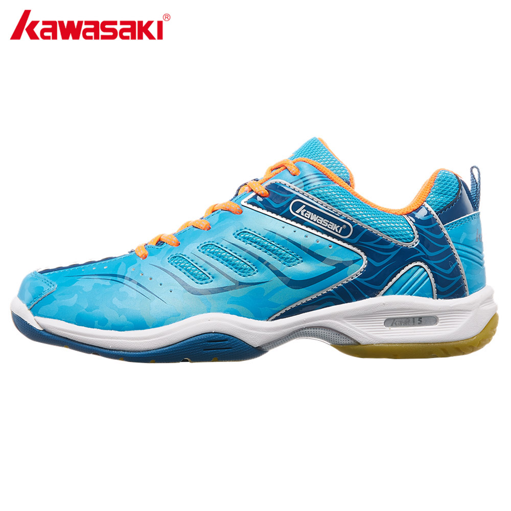 Kawasaki Brand Sneakers for Badminton Sports Shoes Professional Indoor Court Mens Athletic Shoe Comfortable Anti-Slippery K-156