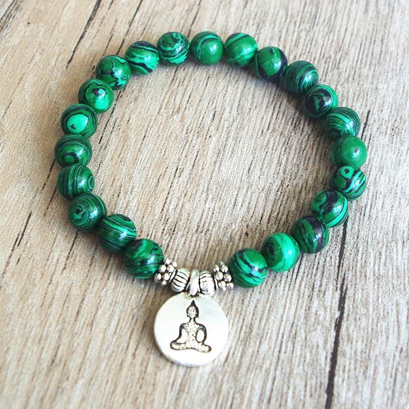 Malachite Mala Bracelet 2