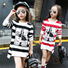 Children Girls T Shirt Cotton Striped Long Sleeve Girls Clothing Autumn Fashion Kids Girls Tee Top