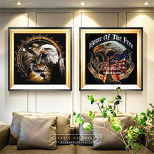 5d Diamond Painting Eagle Diamond Embroidery Icons Flag Full Square Diamond Mosaic Picture Of Rhinestone Resin Drill
