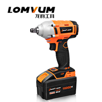 128V 16000mAh Lithium Battery Cordless Electric Wrench Impact Socket Wrench Hand Drill Chuck Bit Hammer Installation Power Tools
