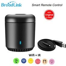 Original Broadlink Smart Home RMMini 3 WiFi+IR+4G Remote Controller Hub for Alexa Google Home IFTTT Wireless APP Voice Control