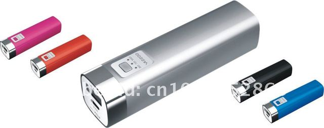 Hot 2200mAh Portable Power bank for iPhone/HTC/iPad/PSP/Samsung/mobile phone,Free Shipping