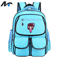 NAITUO Waterproof Orthopedic School Bags for Teenage Girls Fashion Children Backpacks School Large Small Size