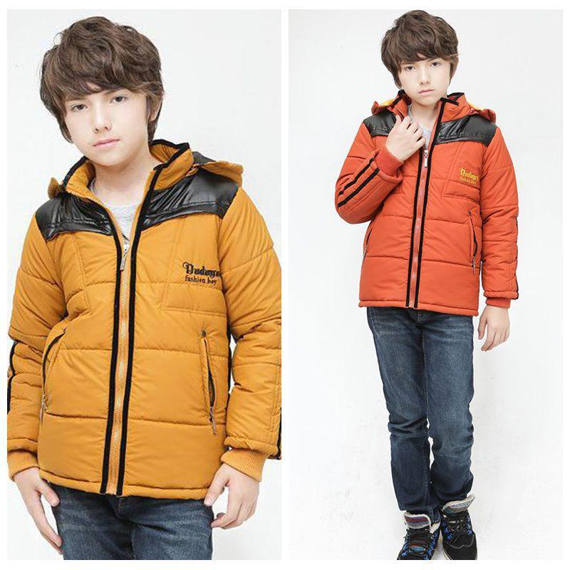 Aliexpress.com : Buy Teen Boy Clothing Kids Thick Coat Winter ...