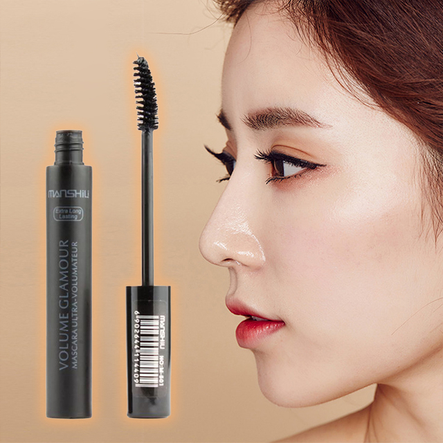 1Pc Quick Dry Fiber Long Thick Curling Lengthening  Mascara Natural Eyelash Paste Eye Lashes Curler Makeup Cosmetics TSLM2 1