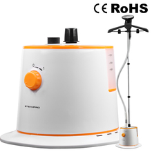 Fabric Steamer,Lightweight Garment Steamer for Home and Travel 1500ML 1800W (White+Orange),Electric Iron