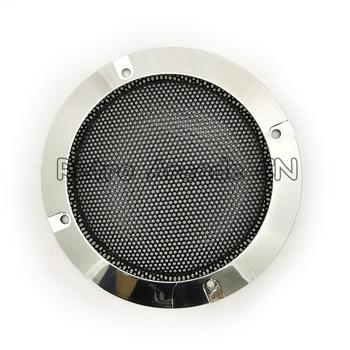 Darmowa wysyłka 1 sztuk 4 cal osłona głośnika obejmuje głośnik netto plastikowe części głośników hurtowych głośnik komponent do szafki arcade tanie i dobre opinie Pchacz 3 lat 4 inch UE Wtyczka
