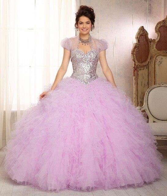 9ba66fe37 Wejanedress Sweet 16 Vestidos Rosa Vestidos de Quinceañera Con la Chaqueta  Vestido De 15 Anos de