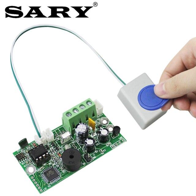 EMID בקרת גישה לוח 125KHZ RFID מוטבע בקרת לוח DC12V בדרך כלל סגור בקרת לוח