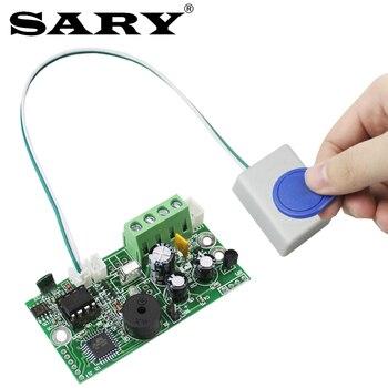 Placa de control de acceso EMID 125KHZ RFID integrado Tablero de control DC12V Tablero de control normalmente cerrado