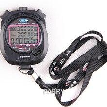 SEWEAN, секундомер, SW8-3100, цифровой хронограф, 1/100 секунды, спортивные секундомеры, счетчик, таймер, 3 ряда, 100, воспоминания, сплит