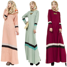 New abaya muslim dress Turkish women clothing mixed colors islamic abaya dresses jilbab musulmane vestidos longos clothes kaftan
