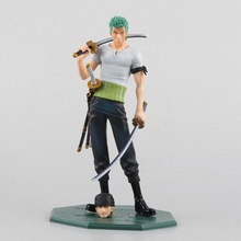 Cool 8″ One Piece P.O.P POP Roronoa Zoro 10th Anniversary Boxed 21cm PVC Action Figure Collection Model Toy Gift A211