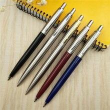 Klassische Design Kugelschreiber Kommerziellen Metall Kugelschreiber Luxus Tragbare Rotierenden Automatische Ball Stift Exquisite Schreiben Werkzeug