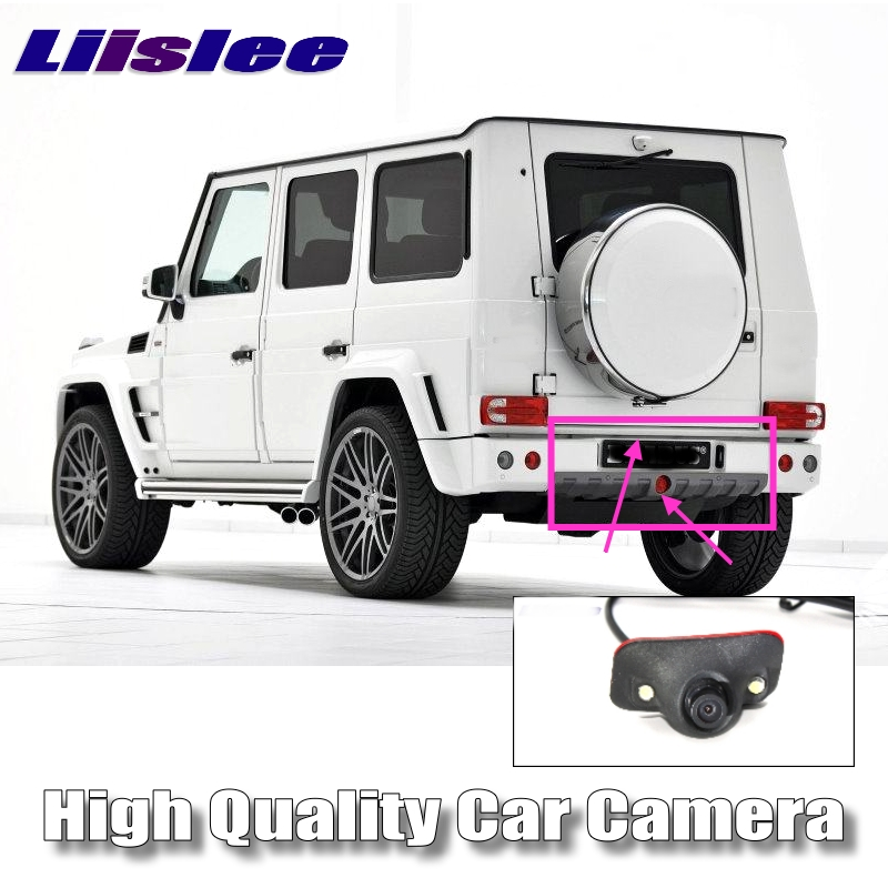 LiisLee Car Camera For Mercedes Benz MB G Wagen W463 461 460 G320 G500 G550 G63 270 280 300 Under Front CAM / RCA Rear Camera