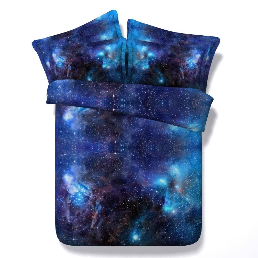 3d Galaxy Print Comforter Bedding Sets Twin Full Queen