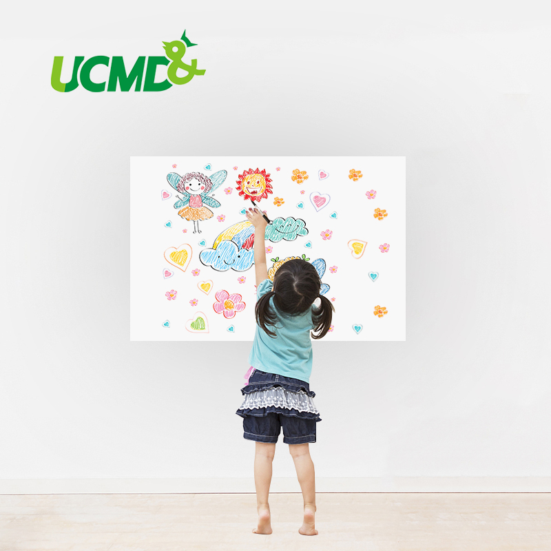 Dry Erase Whiteboard Sticker DIY Self-adhesive White Board Removable Drawing Writing Board for Home School Office 40 X 30 CM oem 30 x 30 diy 30x30cm