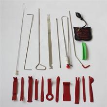 19p/set PDR HOOKS Auto Car Radio Panel Interior Door Clip Panel Pry Tool Trim Removal Opening Tool DIY Car Pry Repair Tool Kit A