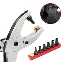 Setting Setter Pliers Kit Eyelets Set Grommets For Bags Shoes Belt High Quality P15