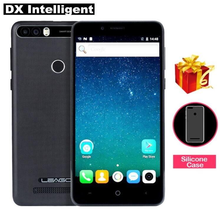 LEAGOO KIICAA power MT6580A 4 ядра 8MP двойной задняя камера мобильный телефон 5,0 HD 2 Гб оперативная память 16 Android 7,0 отпечатков пальцев FM