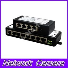 POE Injector 4 and 8 port for Video Surveillance IP Cameras 802.3af POE Power Injector