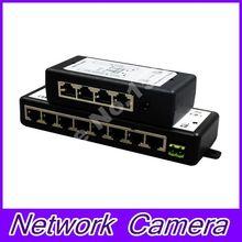 POE Injector  8 port for Video Surveillance IP Cameras 802.3af POE Power Injector