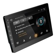 2Din 10 дюймов Android 6,0 Автомобильный Радио Gps навигация Bluetooth емкостный пресс-экран стерео аудио плеер