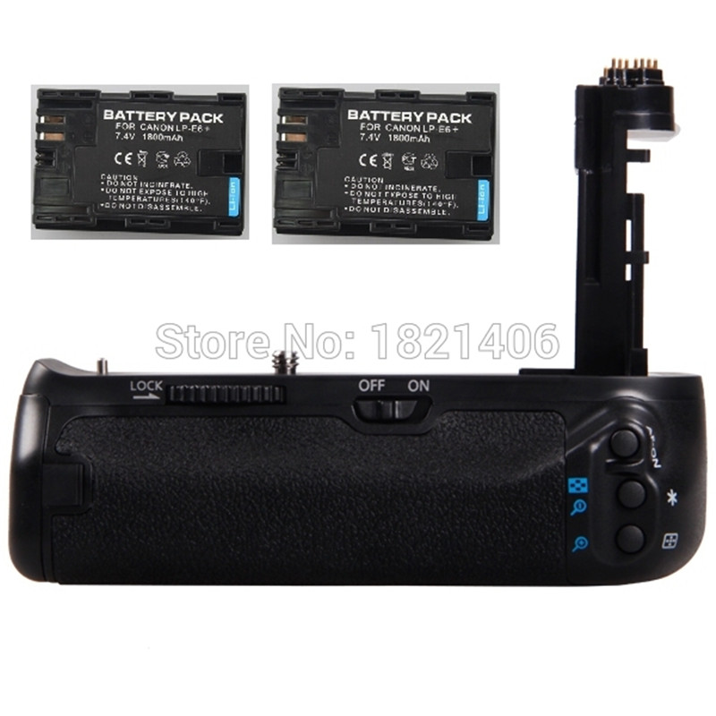 Vertical Multi-power Battery Grip Pack Holder as BG-E16+ 2x LP-E6 Battery for Canon EOS 7D Mark II 7D2 7DII Digital SLR Camera genuine meike vertical battery grip for canon 7d dslr 2 x lp e6 6 x aa