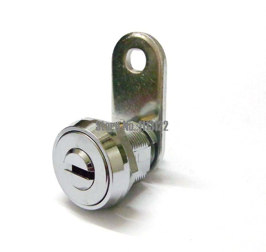 """Qualité 4/"""" Door Safety Lock hinge chrome avec 2 clés"""