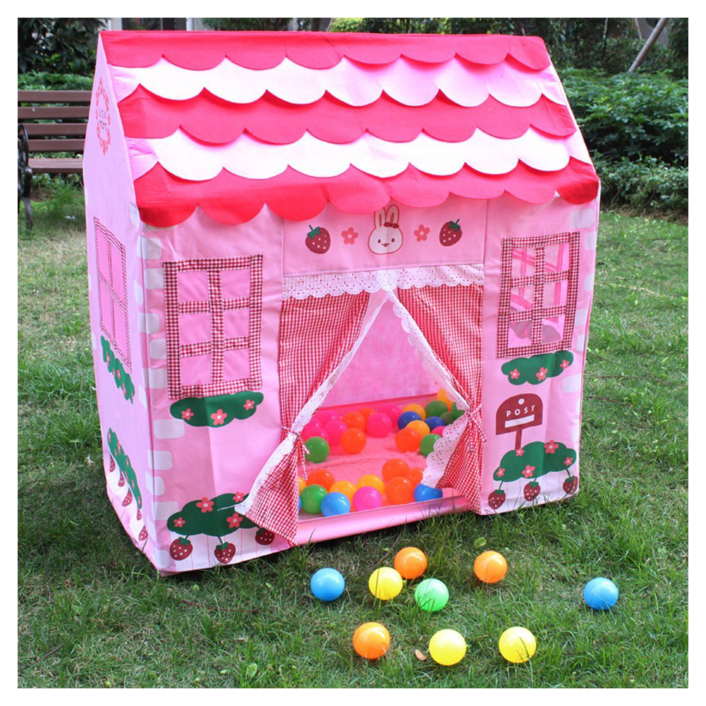 Kids Toys Tents Kids Play Tent Boy Girl Princess Castle Indoor Outdoor Kids House Play Ball Pit Pool Playhouse for Kids baby foldable tents pink play house for camping kids ball pit outdoor toys