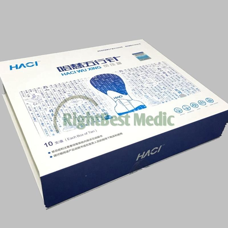 2018 Nouveau Deluxe HACI Magnétique Acupressure Aspiration Ventouses Set HACI Wu Xing Zhen 10 Tasses Magnétique ventouses acupuncture thérapie