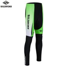 Siilenyond противоударный MTB велосипед Велоспорт мотобрюки штаны для велоспорта колготки для новорождённых с Coolmax 3D гель мягкий