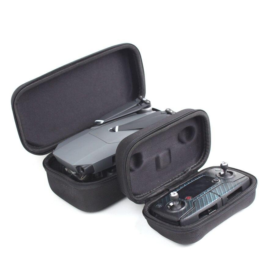 Wtohobby DJI Mavic Pro/Platinum Carrying Case Foldable Drone Body and Remote Controller Transmitter Bag Hardshell Housing Bag drone x pro
