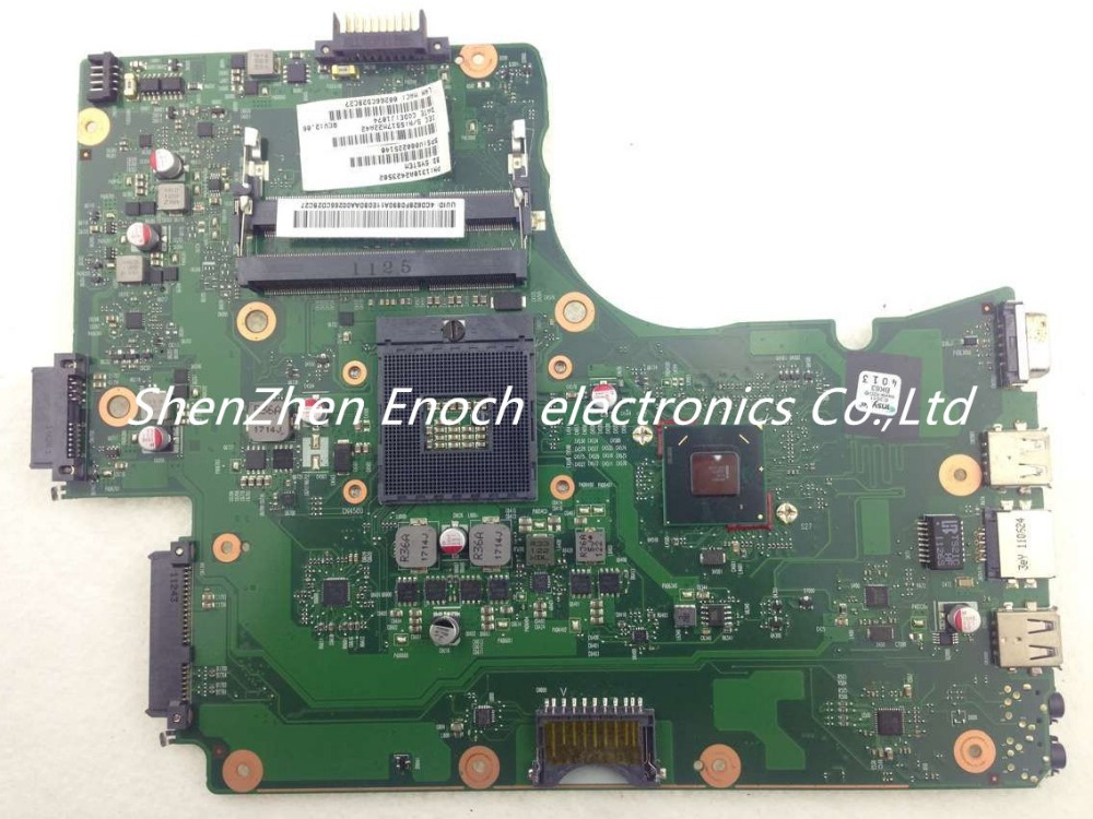 V000225140 for Toshiba satellite C650 C655 Laptop motherboard Integrated HM65 MN10R-6050A2423501-MB-A02 stock No.475