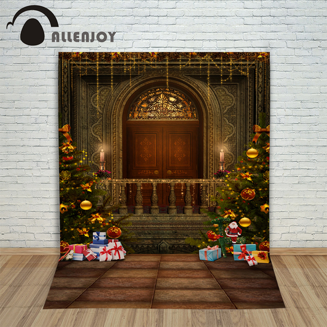 Christmas background photography studio Gift Santa door luxury child new Year decoration Fairy tale camera fond & Christmas background photography studio Gift Santa door luxury child ...