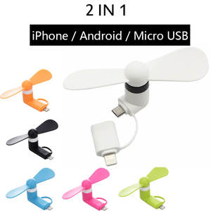 Phone-Fan Cooler Usb-Fans Mobile-Phone Micro-Hanldheld Mini Android Portable Summer Soft