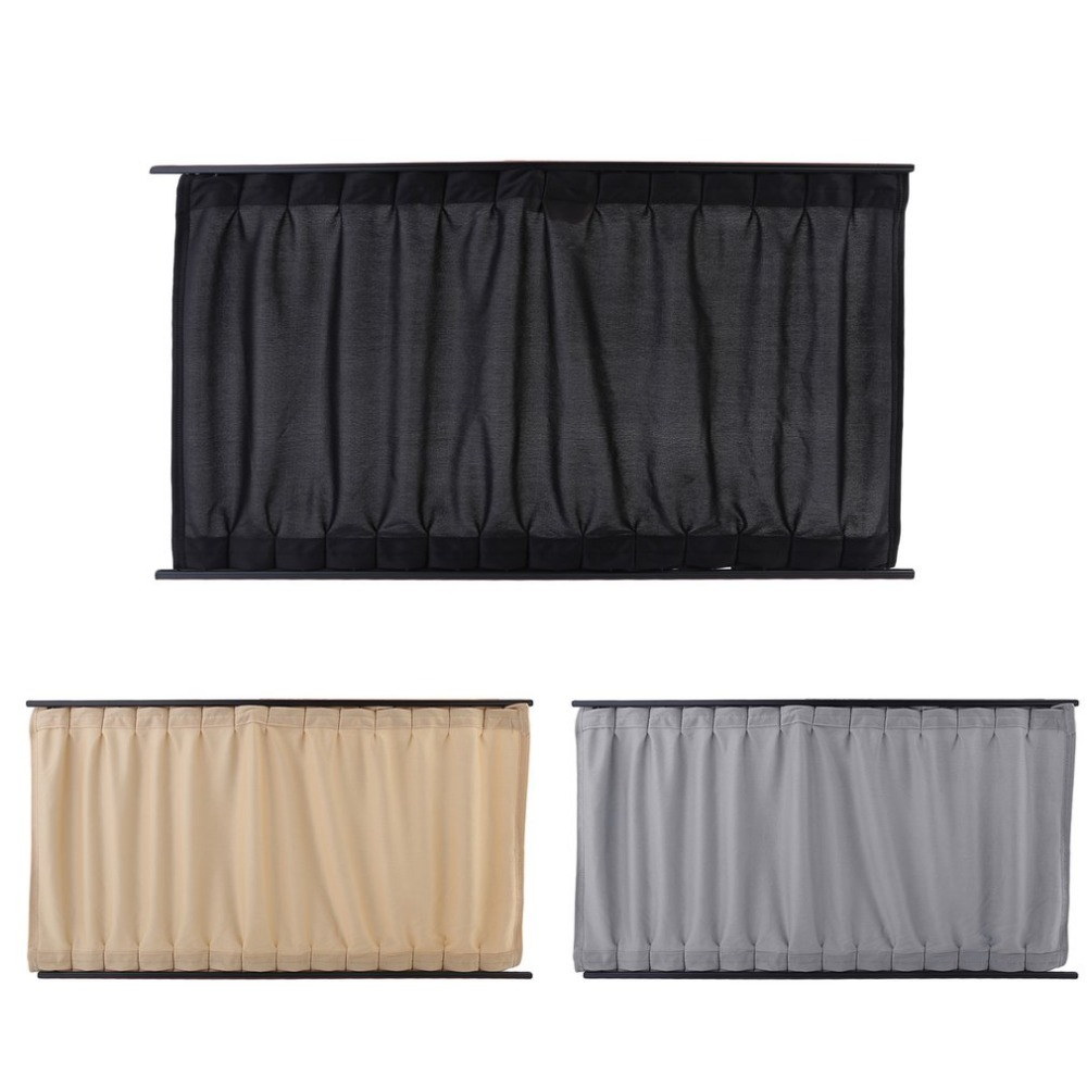 2 Pieces Car Window Curtains Elastic Car Side Window Sunshade Cloth Automobile Sunshade Curtains Vehicle Blind Cover Car-styling