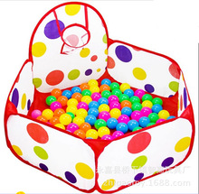 Foldable With Basket Kids Pit Balls Pool Outdoor Indoor Tent Baby Toys Fun Sports Educational Toy