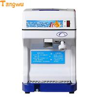 Free Shipping Commercial Power Snowflake Shaved Ice Machine Crusher Smoothies Electromechanical Dynamic Machines